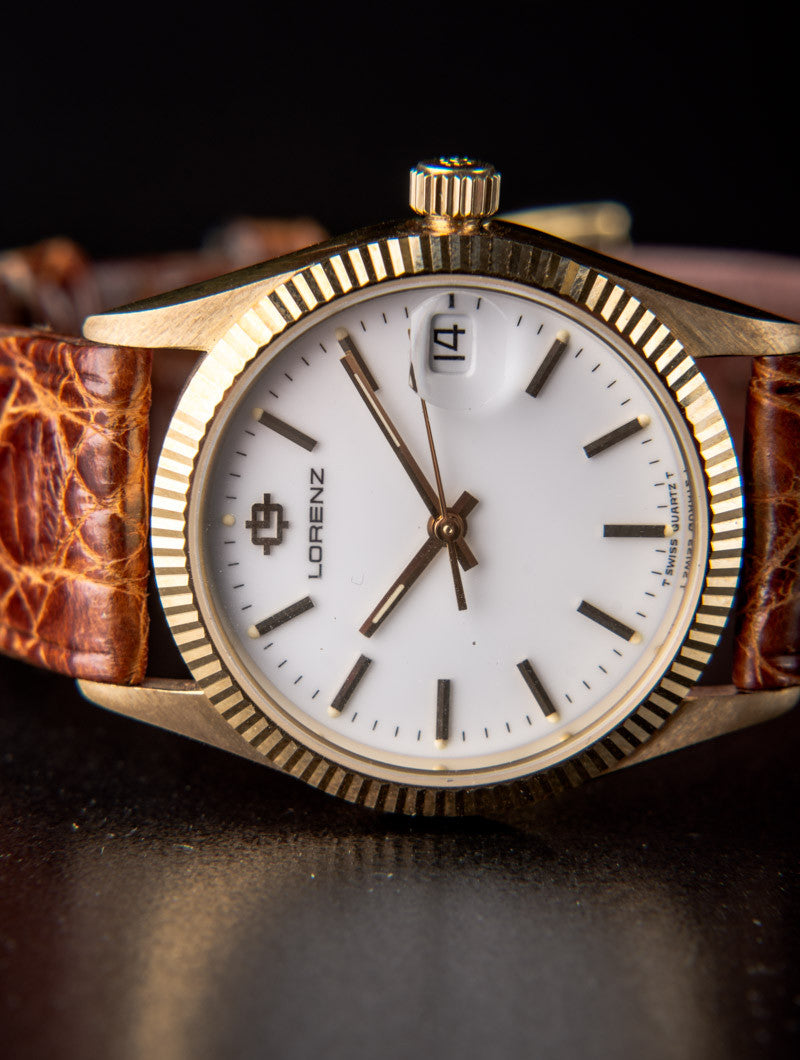 EXCLUSIVE VINTAGE WATCH | LORENZ 18K GOLD | NOHOW STYLE