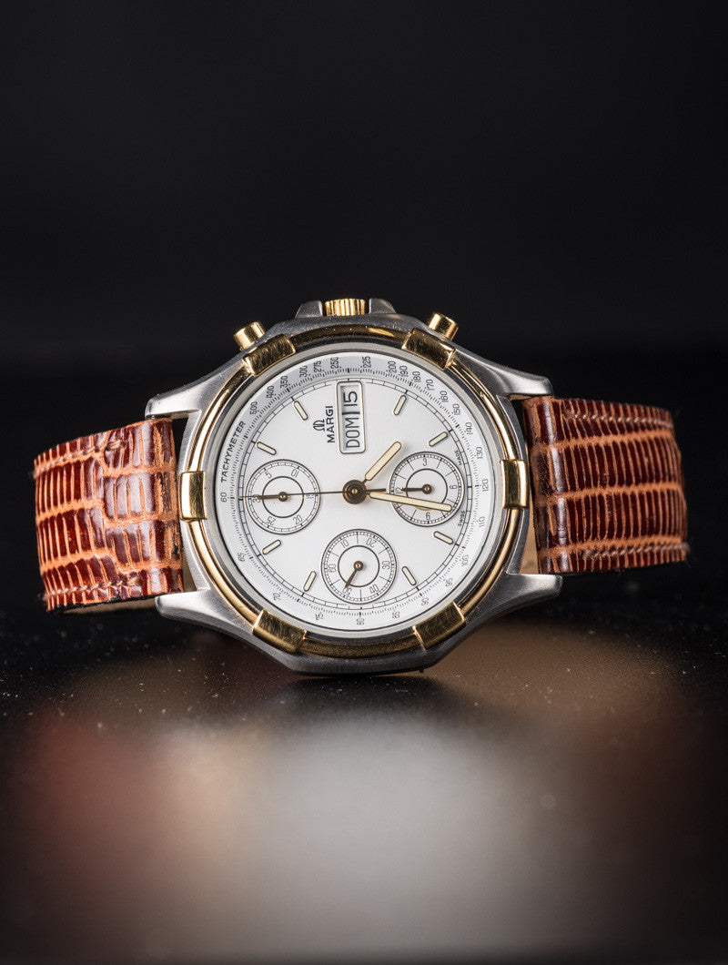 EXCLUSIVE VINTAGE WATCH | MARGI CHRONOGRAPH | NOHOW STYLE