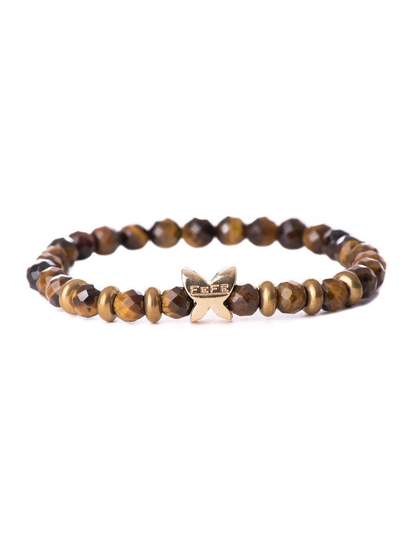 MEN'S BRACELET STONE EYES OF TIGER | NOHOW ACCESSORIES | FEFE GLAMOUR