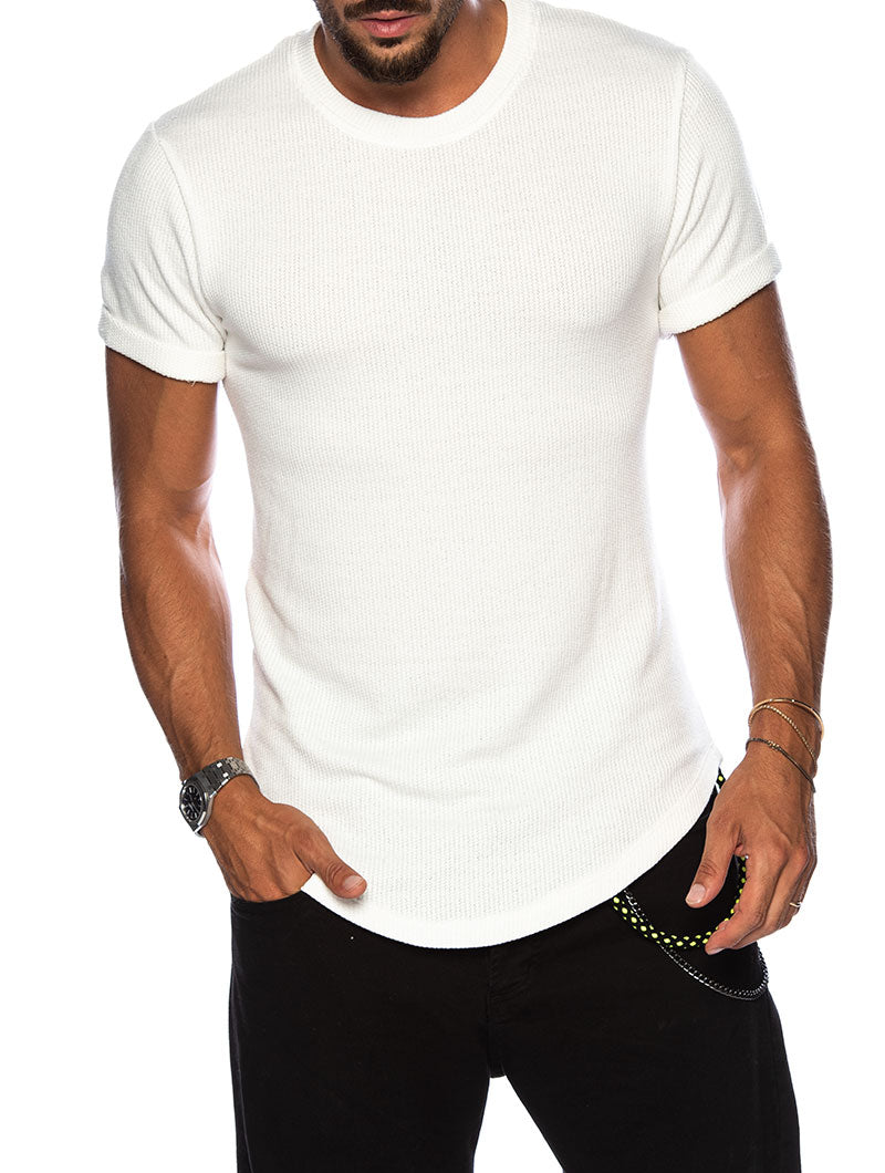 RYAN BASIC T-SHIRT IN WHITE