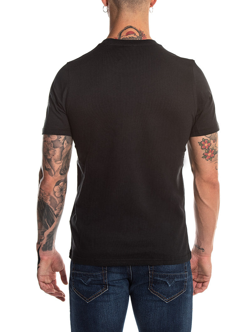 TREFOIL T-SHIRT IN BLACK