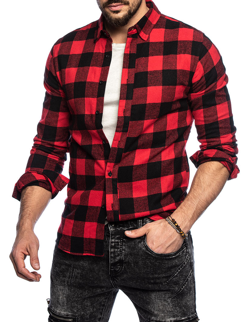 GUILTY GINGHAM SHIRT IN RED