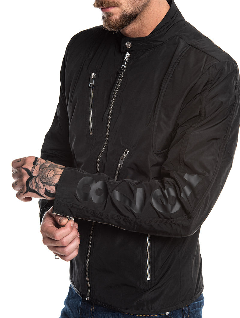 J-MEXIC WATERPROOF JACKET IN BLACK