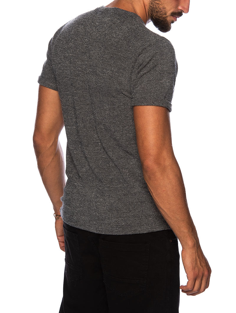 TRENT BASIC T-SHIRT IN GREY