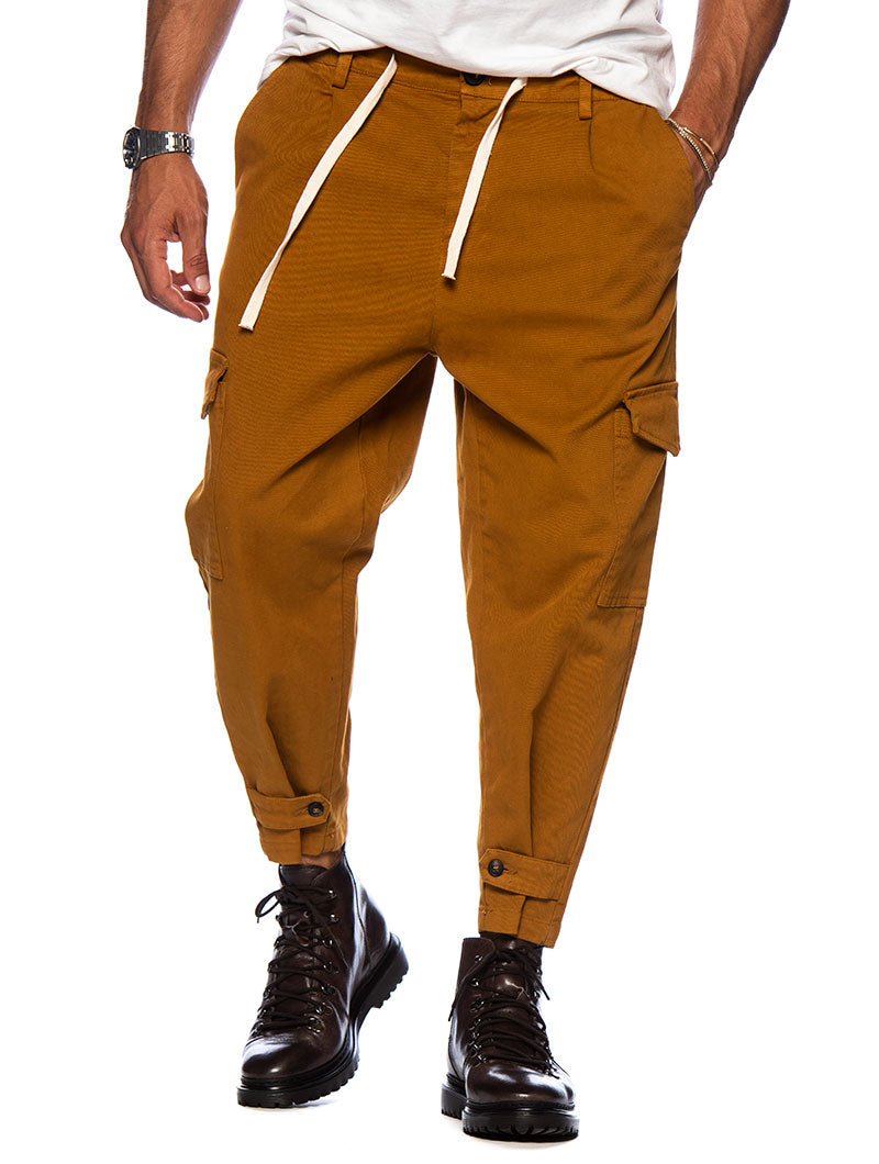 CARTER PANTS IN LIGHT BROWN