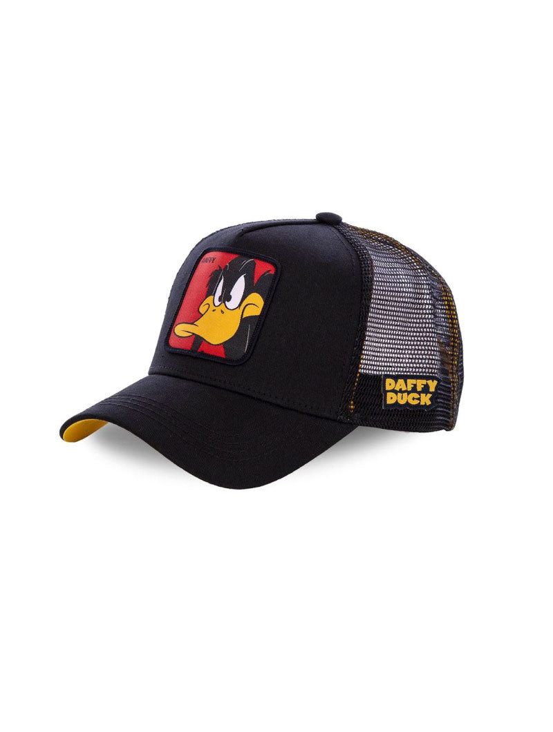 DAFFY DUCK CAP IN BLACK AND YELLOW