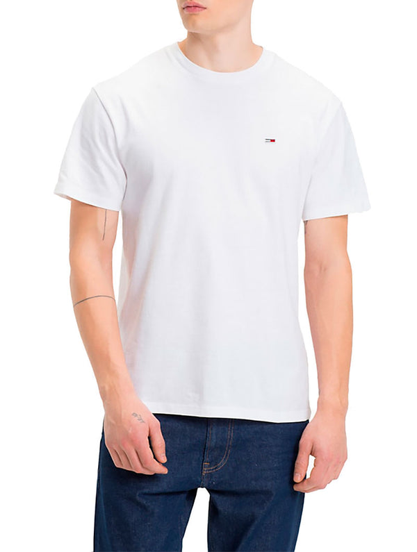 e18ffc84727823 TJM TOMMY CLASSICS TEE IN WHITE. Tommy Hilfiger