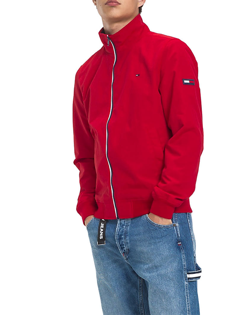 44282eff4 TJM ESSENTIAL CASUAL BOMBER IN FLAME SCARLET – Nohow Style
