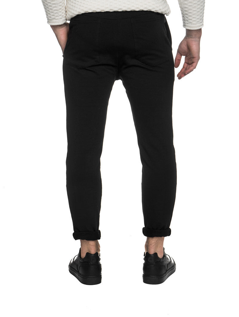 BLACK PANTS TROUSERS