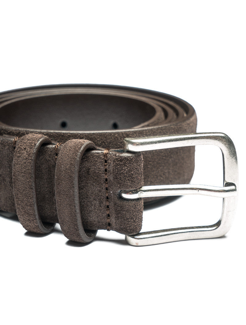 SMART SUEDE BELT IN BROWN