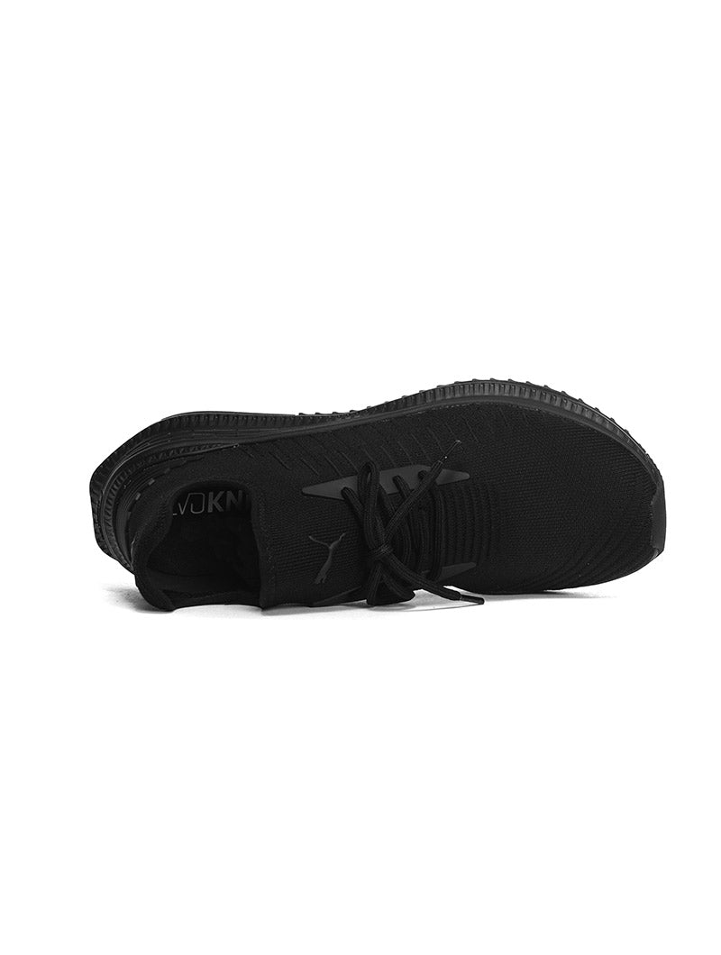 AVID EVOKNIT PUMA MAN SHOES IN BLACK