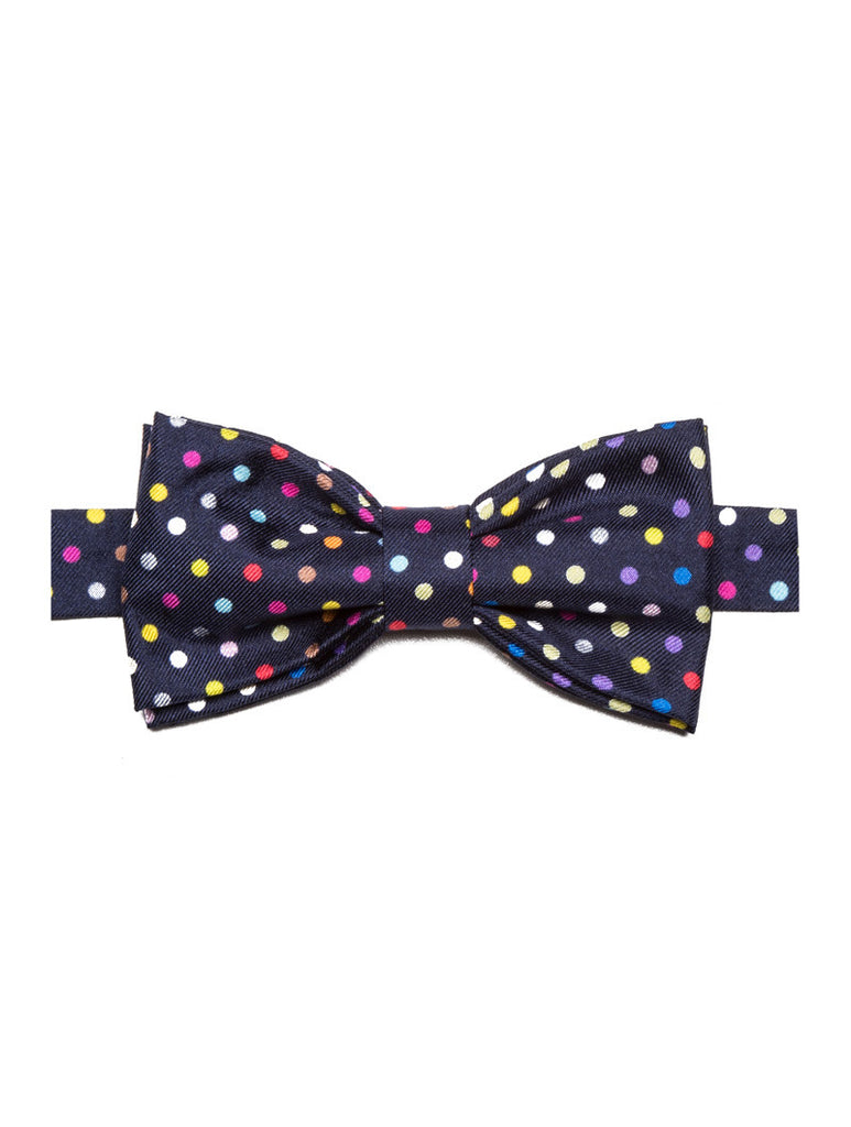 MEN'S PAPPILONS | MULTICOLOR MICROPOIS PAPILLON | FEFE GLAMOUR