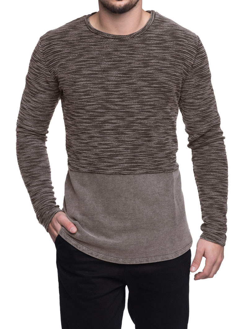 MUD FLAMED SWEATSHIRT