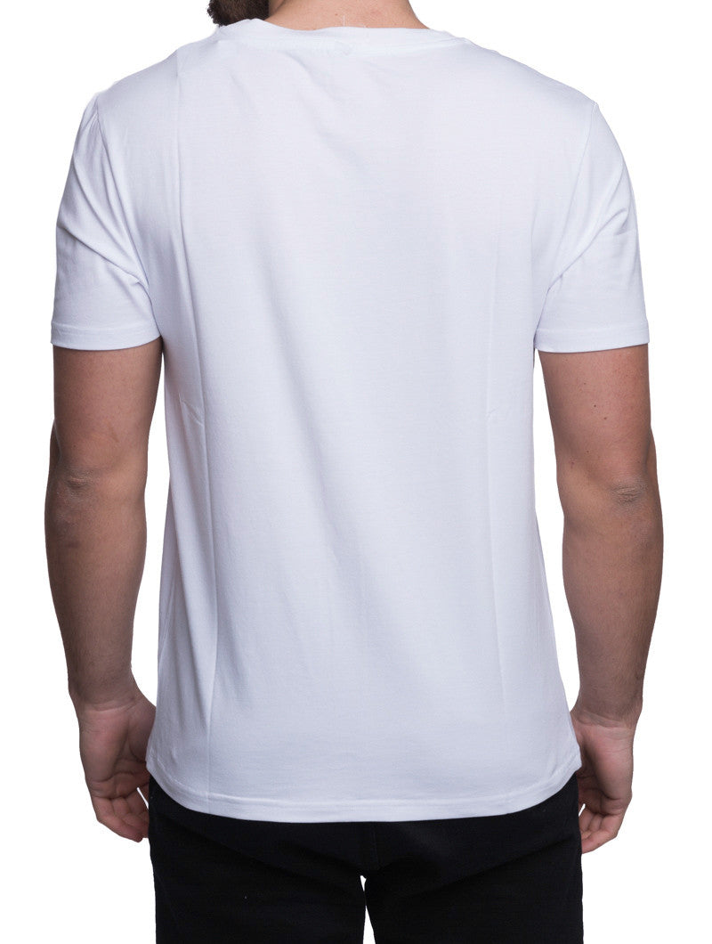 Men's Clothing | 1913 T-SHIRT | White Tee | Printed Logo | Moschino