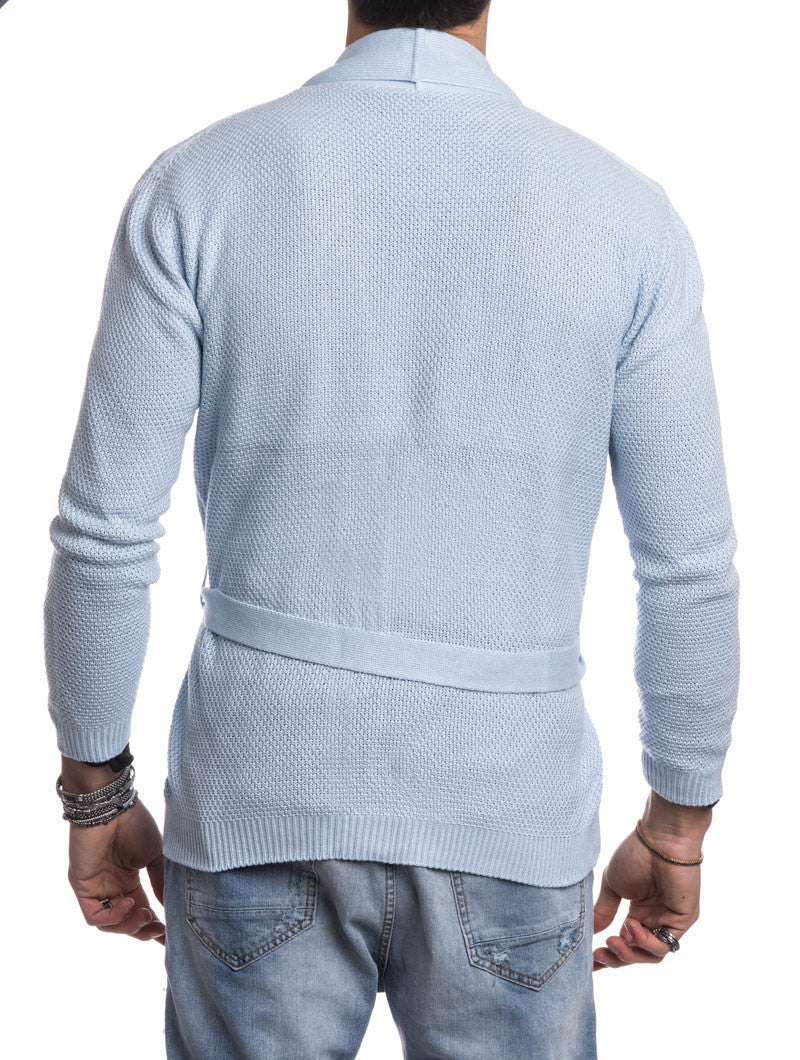 POSITANO LIGHT BLUE CARDIGAN