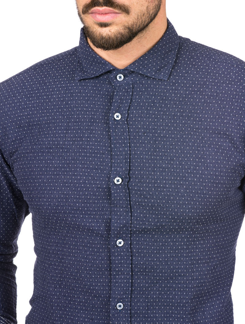 NAVY POIS SHIRT