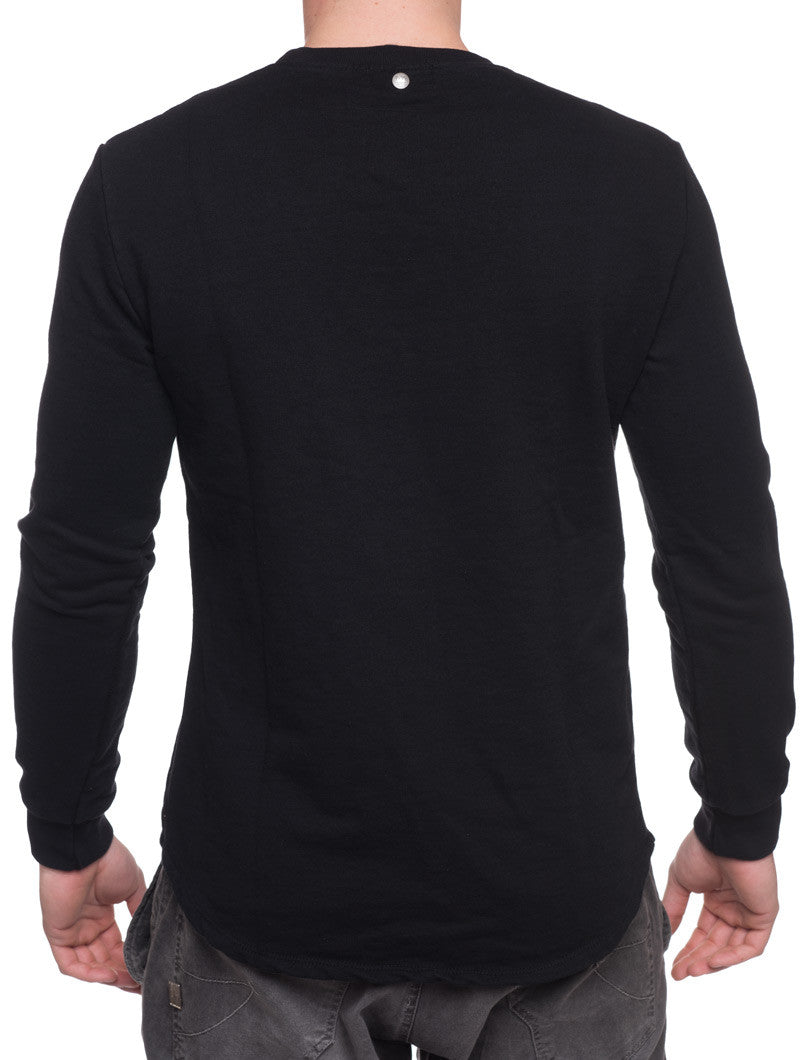 BLACK X SWEATSHIRT