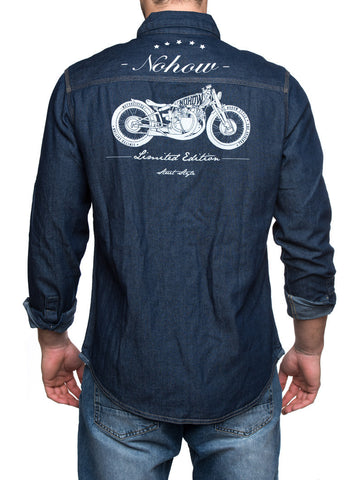 CAFE RACER DENIM SHIRT