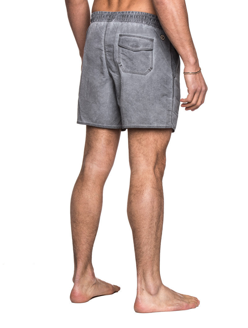 MEN'S CLOTHING | SWIMWEAR | MENS SWIMWEAR SHORTS | TECHNICAL FABRIC | GREY | SHORT LENGTH | #SUMMERVIBES | COLMAR | NOHOW