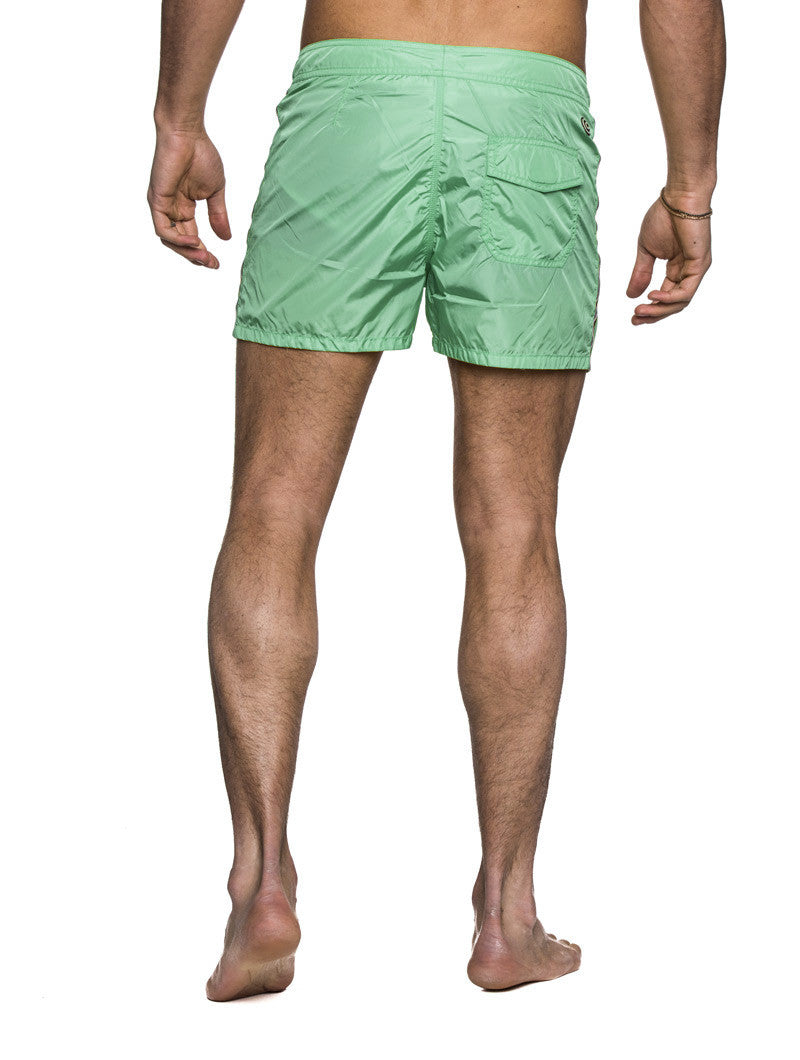 MEN'S CLOTHING | SWIMWEAR | MENS SWIMWEAR SHORTS | TECHNICAL FABRIC | GREEN | SHORT LENGTH | #SUMMERVIBES | COLMAR | NOHOW