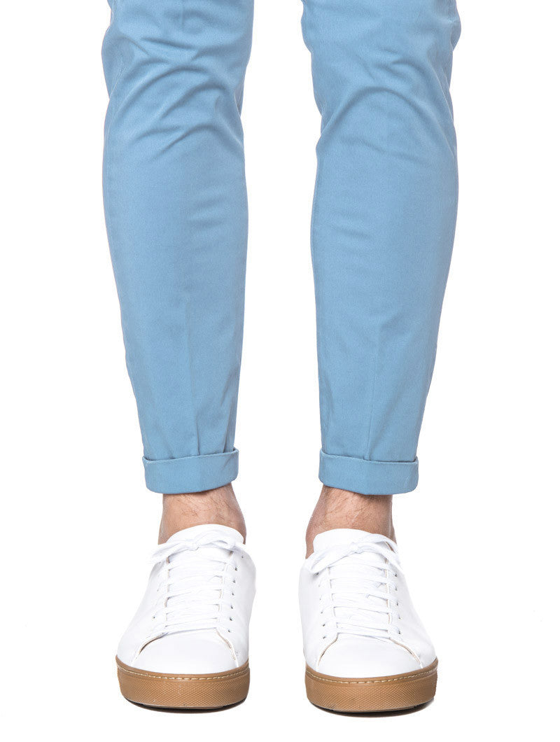 POWDER BLUE PANTS