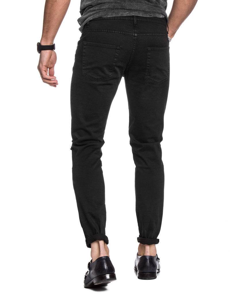 mens clothing black ripped jeans nohow � nohow style