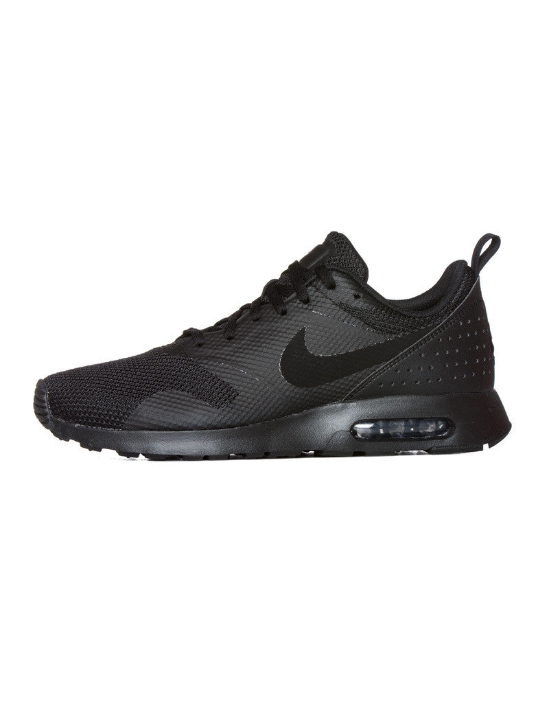 MEN'S SHOES | NIKE AIR MAX TAVAS | BLACK | TRAINERS | SNEAKERS | AIR MAX TECHNOLOGY | RUBBER SOLE | NIKE | NOHOW