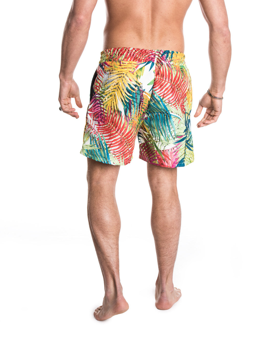 MEN'S CLOTHING | BOTTOMS | SWIMWEAR | PALMS SWIM PANTS | SWIM SHORTS | ALL-OVER PRINT | MULTICOLOUR | TECHNICAL FABRIC | ELASTICATED DRAWSTRING WAISTBAND | MESH LINING | MID LENGTH | SIDE POCKETS | POLYESTER | #SUMMERVIBES | NOHOW