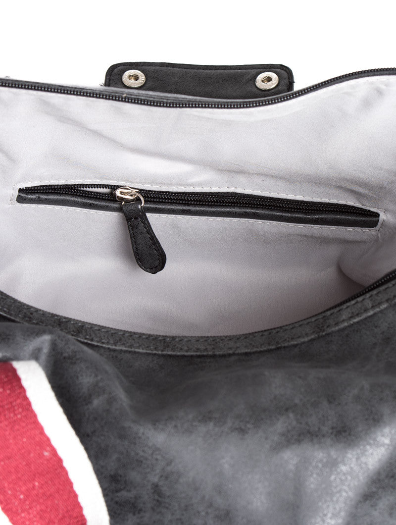 ANTHRACITE CANVAS BAG