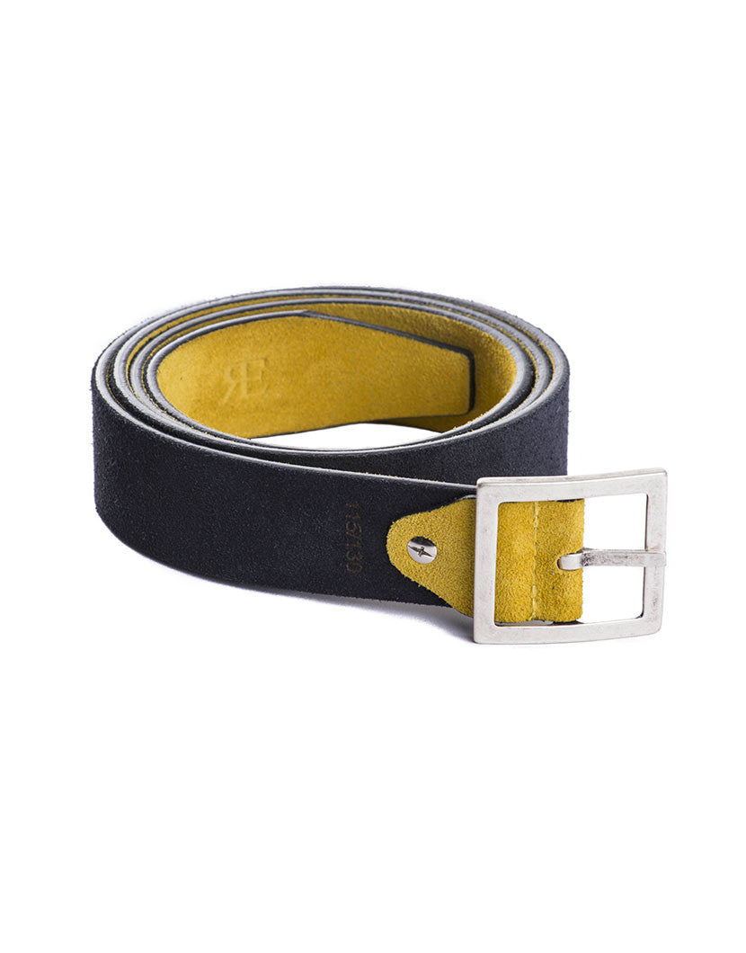 DOUBLE FACE YELLOW BLUE BELT | MEN'S ACCESSORIES | NOHOW