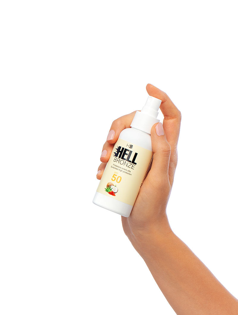 HELL BRONZE SUNSCREEN LOTION