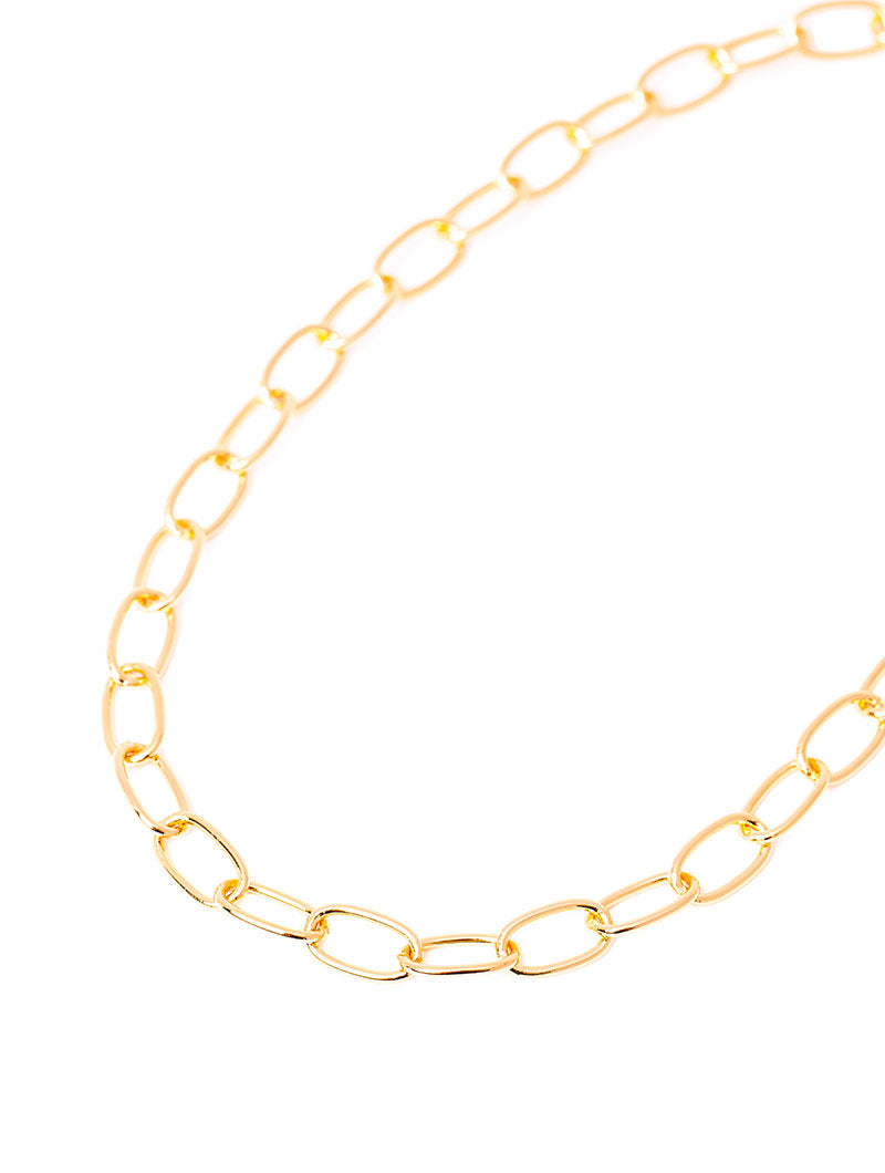 MAYA CHAIN NECKLACE IN GOLD
