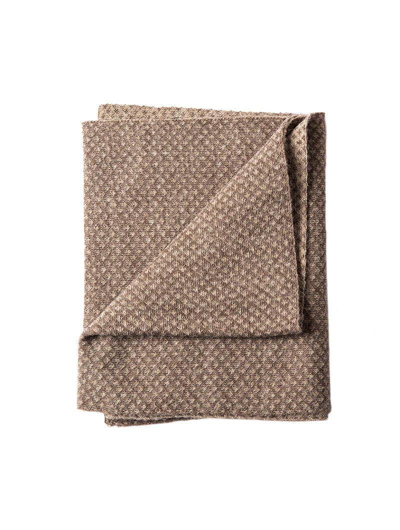 URANIA KNITTED SCARF IN MUD