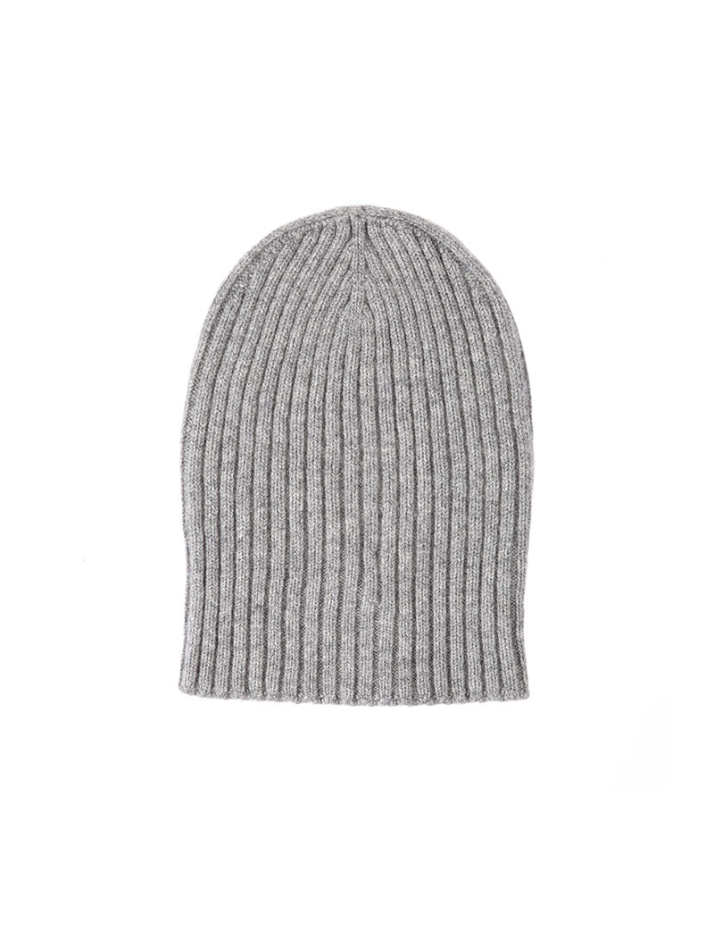 PARIDE SLOUCHY BEANIE IN GREY