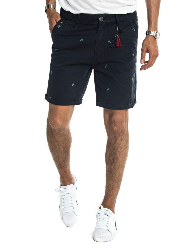 ANCHORS SHORTS IN BLUE NAVY
