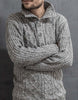 KNIT TRAMPE TWIST SWEATER STREET STYLE MEN