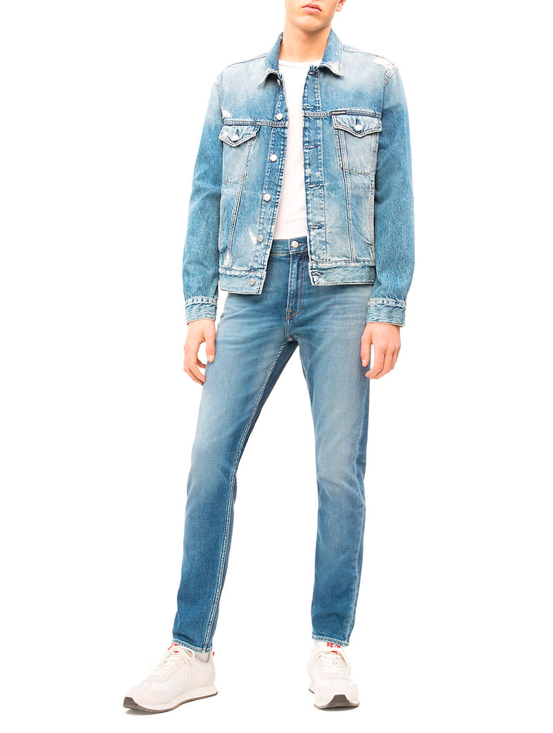 CK DENIM JEANS IN BLUE DENIM