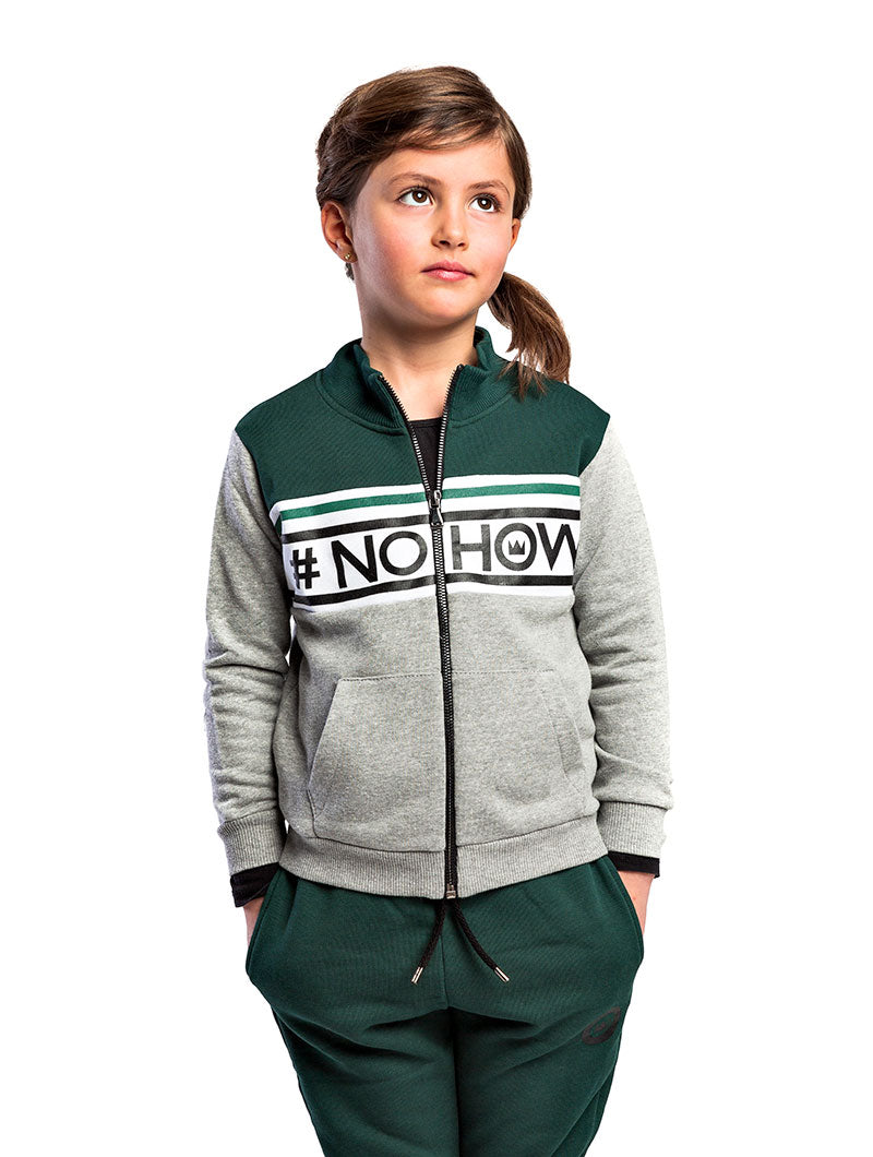 DASHER KIDS' SWEATSHIRT IN GREEN