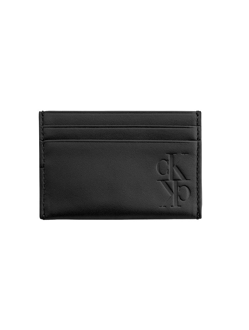 MIRROR MONOGRAM CARD CASE