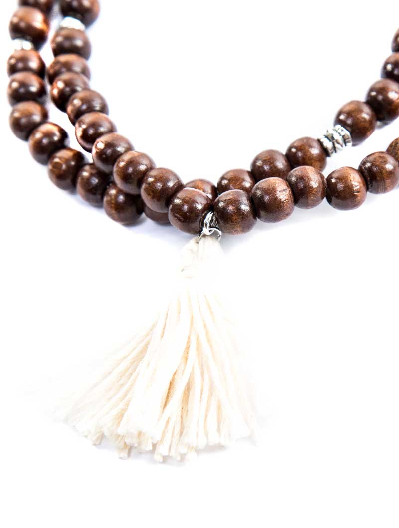 DEMETER BIG WOOD NECKLACE