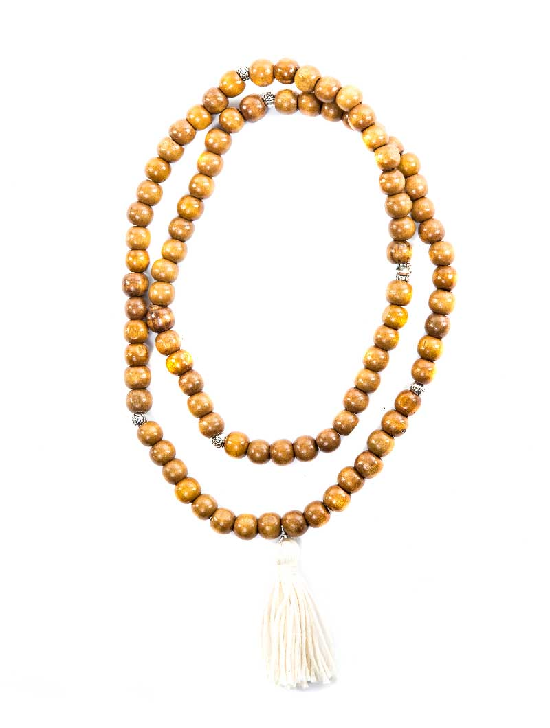 DEMETER BIG BEIGE NECKLACE