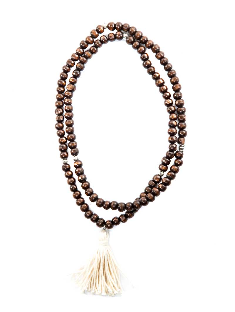 DEMETER SMALL WOOD NECKLACE