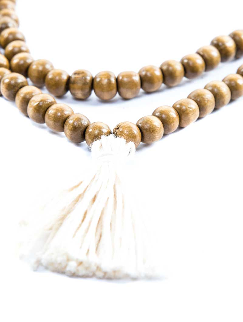 DEMETER SMALL BEIGE NECKLACE