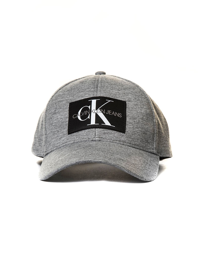 J MONOGRAM CAP M IN MID GREY
