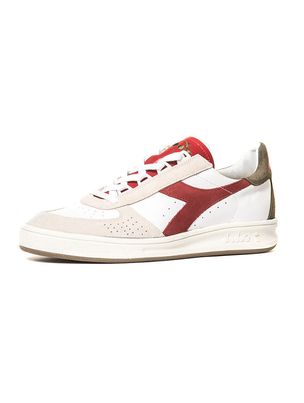 7cfbda7e06508 B ELITE SL SNEAKERS IN WHITE AND RED