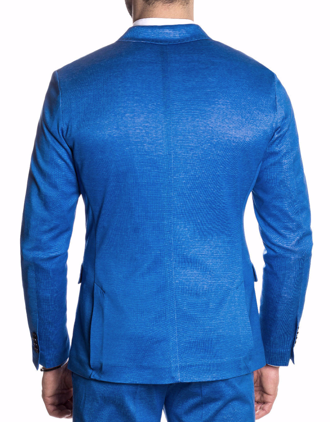 MEN'S BLAZER | BLUE ROYAL VANISE BLAZER | NOHOW STREET COUTURE