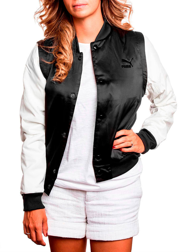 WOMEN'S APPAREL | ZIP OFF SLEEVES BLACK BOMBER JKT | PUMA