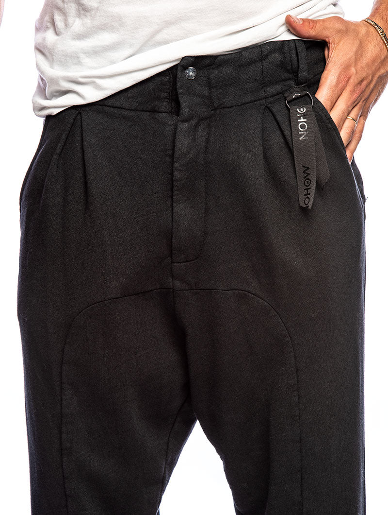 ALGUL CASUAL PANTS IN BLACK