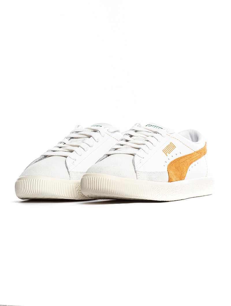 separation shoes 3e69d 35930 BASKET 90680 L PUMA SNEAKERS IN WHITE AND ORANGE