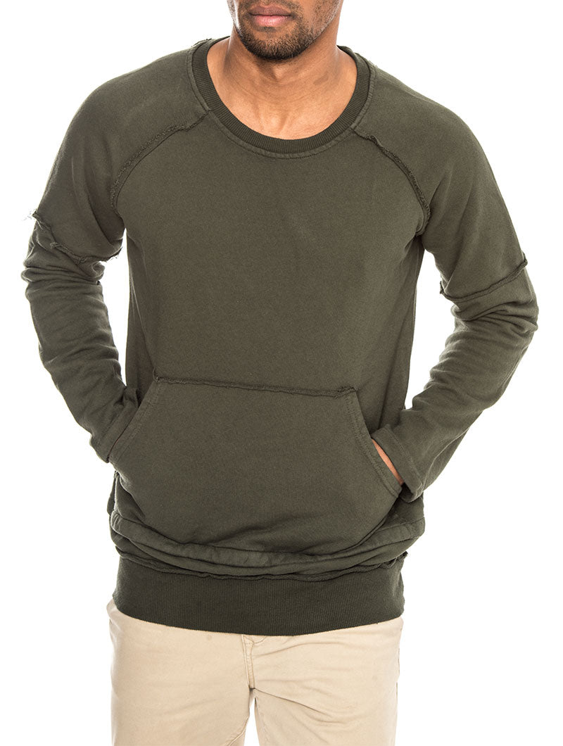 DEEP GREEN NHW SWEATSHIRT